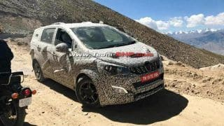 Mahindra U321 (Toyota Innova Crysta Rival) Interior & Exterior Revealed in New Spy Images; Price in India, Launch Date, Specs & Features