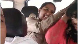 VIDEO: 'मुस्लिम युवक से अफेयर' पर छात्रा को मार रही यूपी पुलिस, सिपाही कर रहा गंदी बात