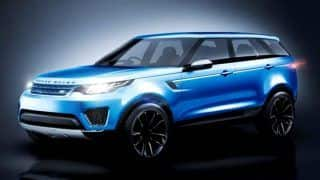 Range Rover Velar teased by Land Rover ahead of March 1 2017 launch