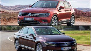 Volkswagen Tiguan, Passat to launch in India in April, July 2017