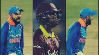 India vs West Indies 2nd ODI: Virat Kohli's 'Livid' Reaction After Shimron Hetmyer's Wicket Shows High Intensity And Passion -- WATCH
