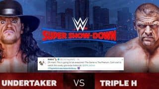 WWE Super Show Down 2018: The Undertaker vs Triple H 'Last Time Ever' Match: The Social Buzz Ahead of The Showdown