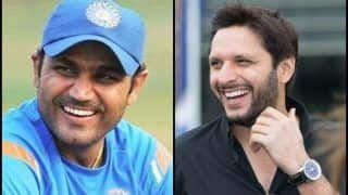 Virender Sehwag, Shahid Afridi Reveal Their Toughest Competitors And It is Shoaib Akhtar For The Indian