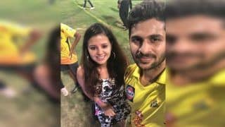 Mahendra Singh Dhoni's Wife Sakshi Wishes Chennai Super Kings' Shardul Thakur on His 27th Birthday -- PIC
