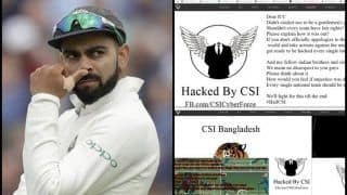 Virat Kohli's Official Website Hacked by Bangladeshi Fans Protesting Against 'Cheating' in Asia Cup 2018 Final -- PIC