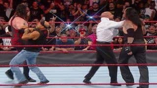 WWE Raw: 'Brothers of Destruction' Undertaker And Kane Returns to WWE, Attacks 'DX', Shawn Michaels And Triple H--WATCH