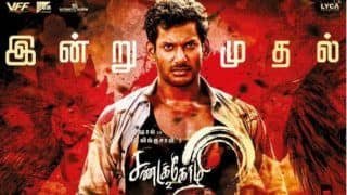 Vishal And Varalaxmi Sarathkumar's Tamil Film Sandakozhi 2 Full Movie Leaked Online by Tamil Rockers on Day 1