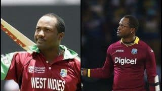 India vs West Indies at Guwahati: Marlon Samuels Joins Brian Lara With Embarrassing Record, Becomes Second Batsman to Score Duck in 200th ODI