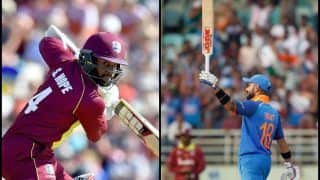 India vs West Indies 2nd ODI at Vizag Match Report: Virat Kohli's 37th Century Not Good Enough as Shai Hope's Ton Helps Windies Tie Match