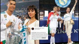 Juventus Footballer Cristiano Ronaldo's Girlfriend Georgina Rodriguez Supports Footballer After Rape Allegations Come to Light