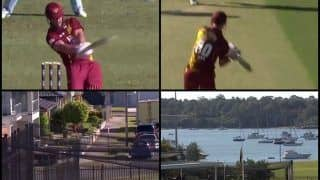 JLT One Day Cup, New South Wales Blues vs Queensland Bulls: Chris Lynn Scores Breathtaking Ton, Hits a Six in The Parking Zone -- WATCH