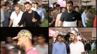 West Indies Tour of India: Virat Kohli, Rishabh Pant, Ravichandran Ashwin, KL Rahul and Co Arrive at Rajkot -- WATCH