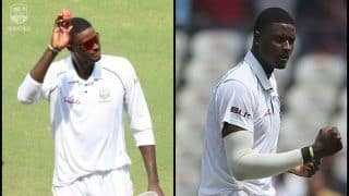India vs West Indies 2nd Test Day 3: Jason Holder Pickes a Record Breaking Five-Wicket Haul to Become Highest Wicket Taker in 2018, Picks Virat Kohli, Ajinkya Rahane -- WATCH