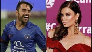Afghanistan Premier League 2018: Erin Holland Requests Kabul's Icon Player Rashid Khan to Look After Her Boyfriend Nangarhar Leopards' Ben Cutting