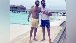 Yuvraj Singh Joins Zaheer Khan, Sagarika Ghatge in Maldives For Zak's 40th Birthday Celebrations -- PIC
