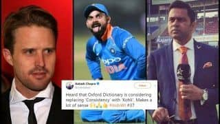 Former English Cricketer Nick Compton Faces Heat For Undermining Virat Kohli's Achievement in a Twitter Convo With Aakash Chopra