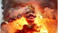 Dussehra 2020: संतान प्राप्ति के लिए यहां की जाती है रावण की पूजा,  प्रतिमा के आगे घूंघट में जाती हैं औरतें