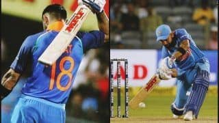 India vs West Indies 4th ODI at Mumbai: Virat Kohli Stands Chance of Equalling Kumar Sangakkara's World Record of Four Consecutive Centuries