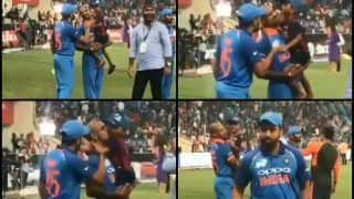 Asia Cup 2018: Rohit Sharma, Shikhar Dhawan Pampering Zoravar is Too Cute -- WATCH