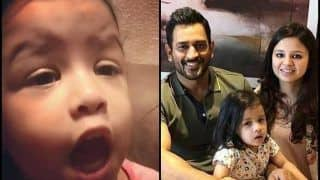 MS Dhoni's Daughter Ziva Singing in Malayalam Will Melt Your Heart Like Never Before -- WATCH