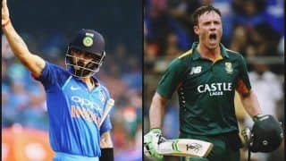 India vs West Indies 3rd ODI: Virat Kohli Could Equal AB de Villiers Record of Four Consecutive Centuries in India at Pune