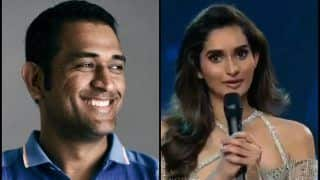 MS Dhoni Finds an Admirer on Beauty Pageant Stage, Impresses Judges Sushant Singh Rajput, Shilpa Shetty -- WATCH