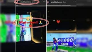 India vs West Indies 2nd ODI: Anushka Sharma's Message For Virat Kohli After 37th Ton Will Melt Your Heart