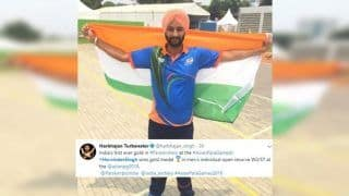 Asian Para Games: Harvinder Singh Wins Gold in Men's Recurve Gold, India on Eight Spot in Medals Tally, Harbhajan Singh Congratulates