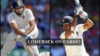West Indies Tour of India: Rohit Sharma in Line to Make a Comeback in Australia Series