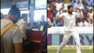 India vs West Indies 2nd Test: Indian Journo Praises Man of The Match Umesh Yadav For Not Using Status With Jet Airways Staff -- WATCH