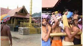 सबरीमाला: महिलाओं के लिए दूसरे दिन भी नहीं खुले मंदिर के दरवाजे, तनाव बरकरार