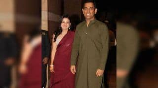 MS Dhoni, Sakshi in Indian Traditional Look Ahead of Navratri is Giving Serious Couple Goals -- PIC