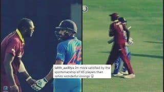Jason Holder-Led Windies Lauding Rohit Sharma's Brilliant 162 is Winning The Internet -- WATCH
