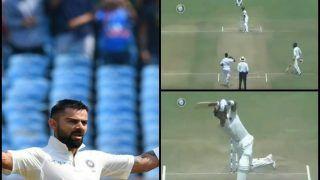 India vs West Indies 1st Test Day 2 at Rajkot: Virat Kohli Scores 24th Record-Breaking Test Century, Falls Prey to Sherman Lewis -- WATCH