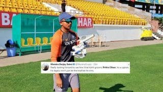 India vs West Indies 1st Test: Prithvi Shaw Set to Make Debut at Rajkot After India Announce 12-Member Squad, Sets Twitter on Fire