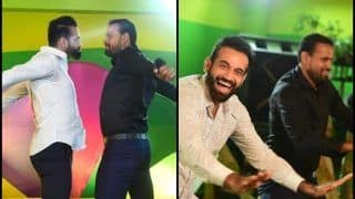 Yusuf And Irfan Pathan Dance Like Desi Boys at Their Sister's Pre-Wedding Ceremony -- PICS
