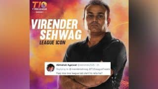 Virender Sehwag Gets Trolled After he Posts About an Upcoming T10 League