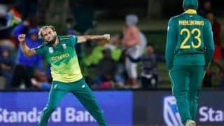 Imran Tahir Bags a Hattrick Against Zimbabwe, Joins Kagiso Rabada, Jean Paul Duminy And Charl Langeveldt to Become Fourth South African to do so -- WATCH