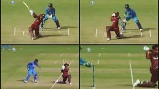 India vs West Indies 3rd ODI: Lightening Quick MS Dhoni Stumps Shimron Hetmyer of Kuldeep Yadav -- WATCH