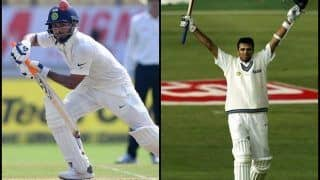 India vs West Indies 2nd Test Day 3 at Hyderabad: Rishabh Pant Joins Rahul Dravid to Unique Record
