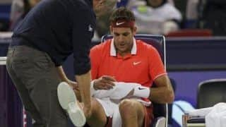 Juan Martin del Potro Injures His Right Kneecap; New Medical Tests to Determine Extent of Injury