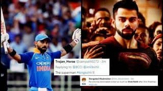 India vs West Indies 3rd ODI at Pune: Virat Kohli Slams 38th Ton to Join AB de Villiers to Indian Record, Twitter Goes Berserk
