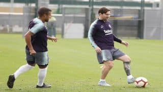 FC Barcelona Conclude Training, Set For Crucial Sevilla Clash in Bid For Top Spot
