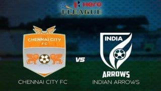 I-League 2018-19 Chennai City vs Indian Arrows Football Clash- Live Streaming And Preview