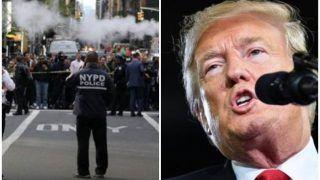 सीएनएन को भेजी गई विस्फोटक सामग्री, ट्रम्प पर गैर जिम्मेदाराना रवैये का आरोप