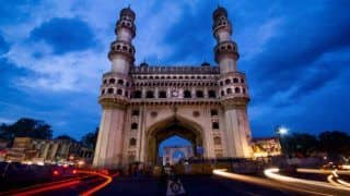 Hyderabad: Part Of Charminar Falls, no Casualty Reported