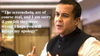 Chetan Bhagat Apologises to Woman Journalist For Trying to 'Woo' Her After Screenshots Went Viral - Read Post Here