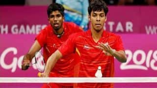 Indian Shuttlers Satwiksairaj, Chirag Crash Out of French Open 2018