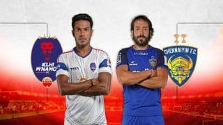 Indian Super League 2018-19: Delhi Dynamos vs Chennaiyin FC Live Streaming, When And Where to Watch Online in India