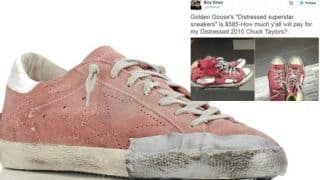 Golden Goose Sells Shoes With 'Hold-it-all' Together Tape; What'll we Have Next